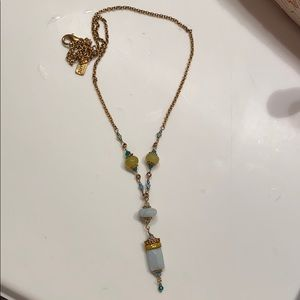 Pretty jewel necklace